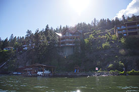 Relax and enjoy the Okanagan Sunshine and beautiful views