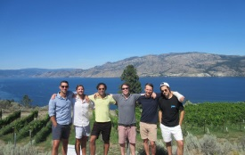 Combine a winery tour with a wonderful cruise on Lake Okanagan.